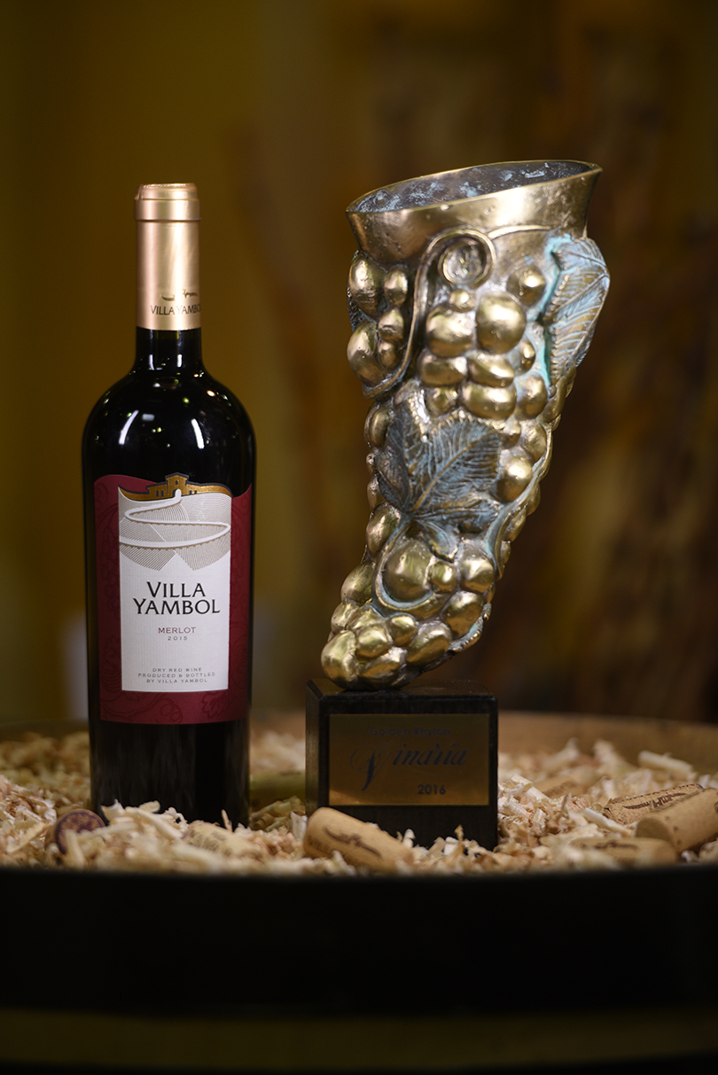 Бал на «Винарии» принес Золотой ритон Villa Yambol