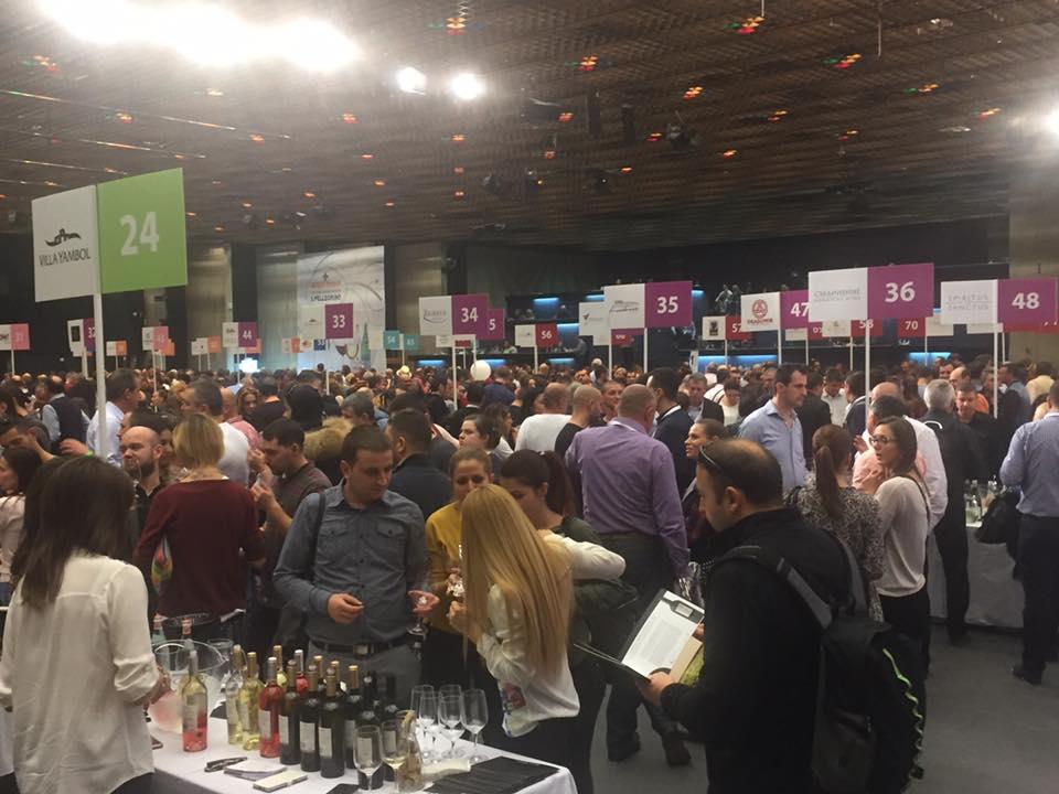 Villa Yambol took part in DiVino Taste 2016