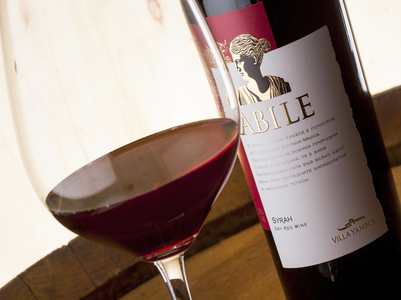 Villa Yambol Extended its KABILE Line with Wine of the Aristocratic Syrah Variety